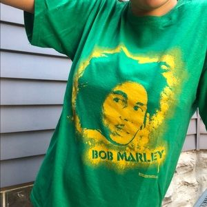 Bob Marley short sleeves shirt